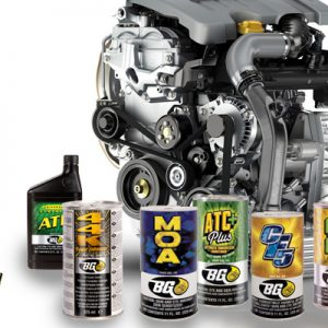 BG producten ( motorreiniging )